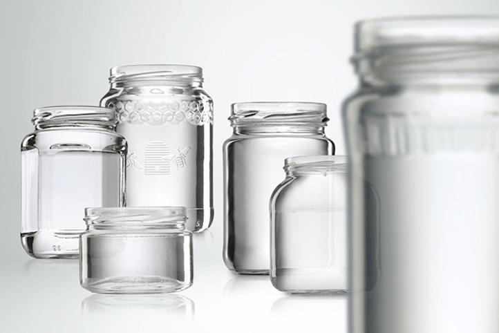 Glass jars for spreads